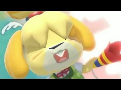 How Smash Bros Players Saw Isabelle (Ultimate)
