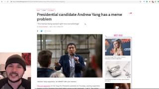MEME CIVIL WAR??! Andrew Yang's #YangGang Vs TRUMP??
