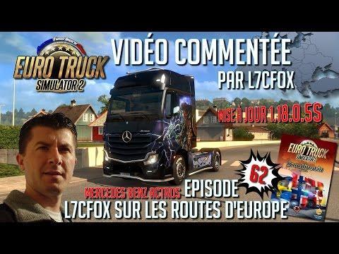 Euro Truck Simulator 2 - L7CFox sur les routes d'Europe - Episode 62 DLC Scandinavia