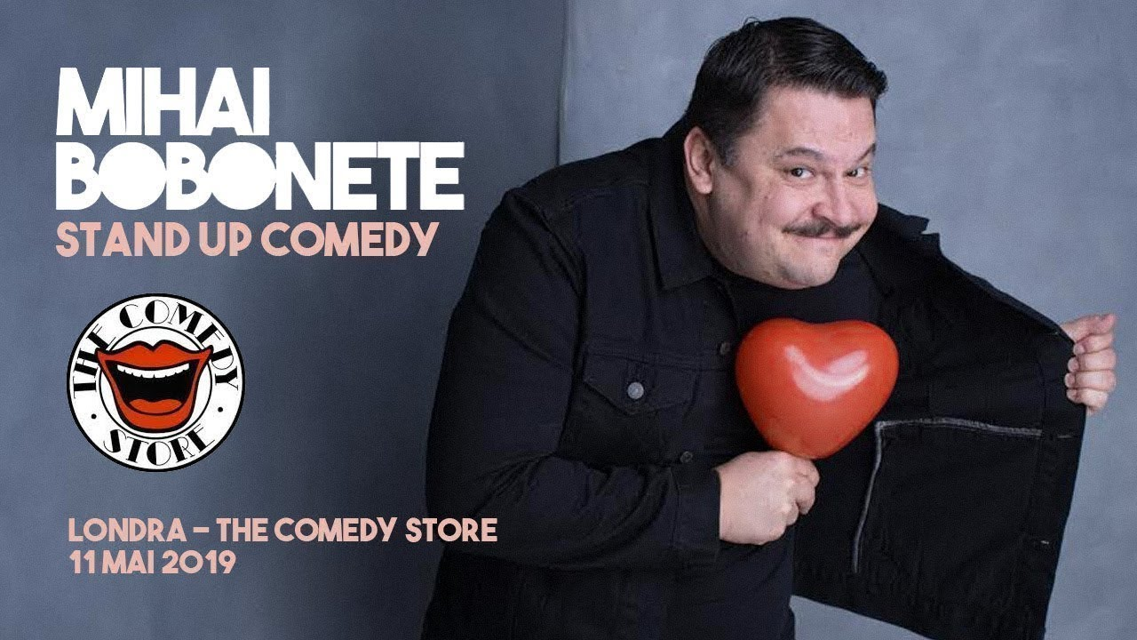 Mihai Bobonete - The Comedy Store (Londra show integral stand up 2019). Lasa un like s-un comment!