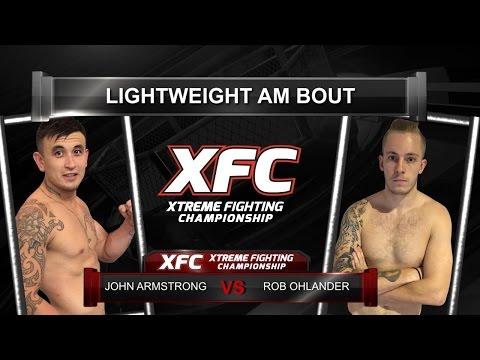 XFC29   John Armstrong vs Rob Ohlander