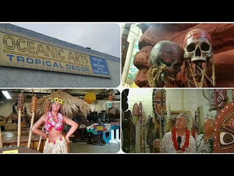 Oceanic Arts - All things tiki and nautical