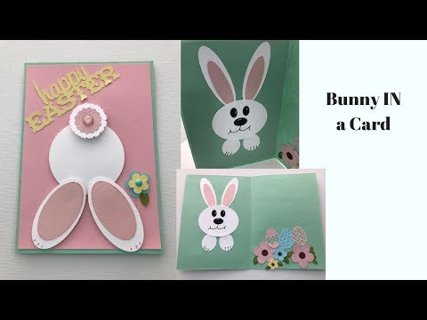 Inside Out Bunny Card