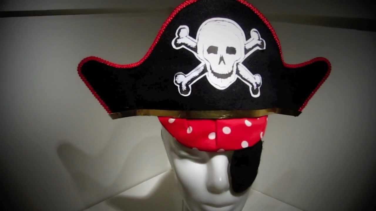 ahorros fantásticos zapatos de temperamento material seleccionado Sombrero Pirata con Parche