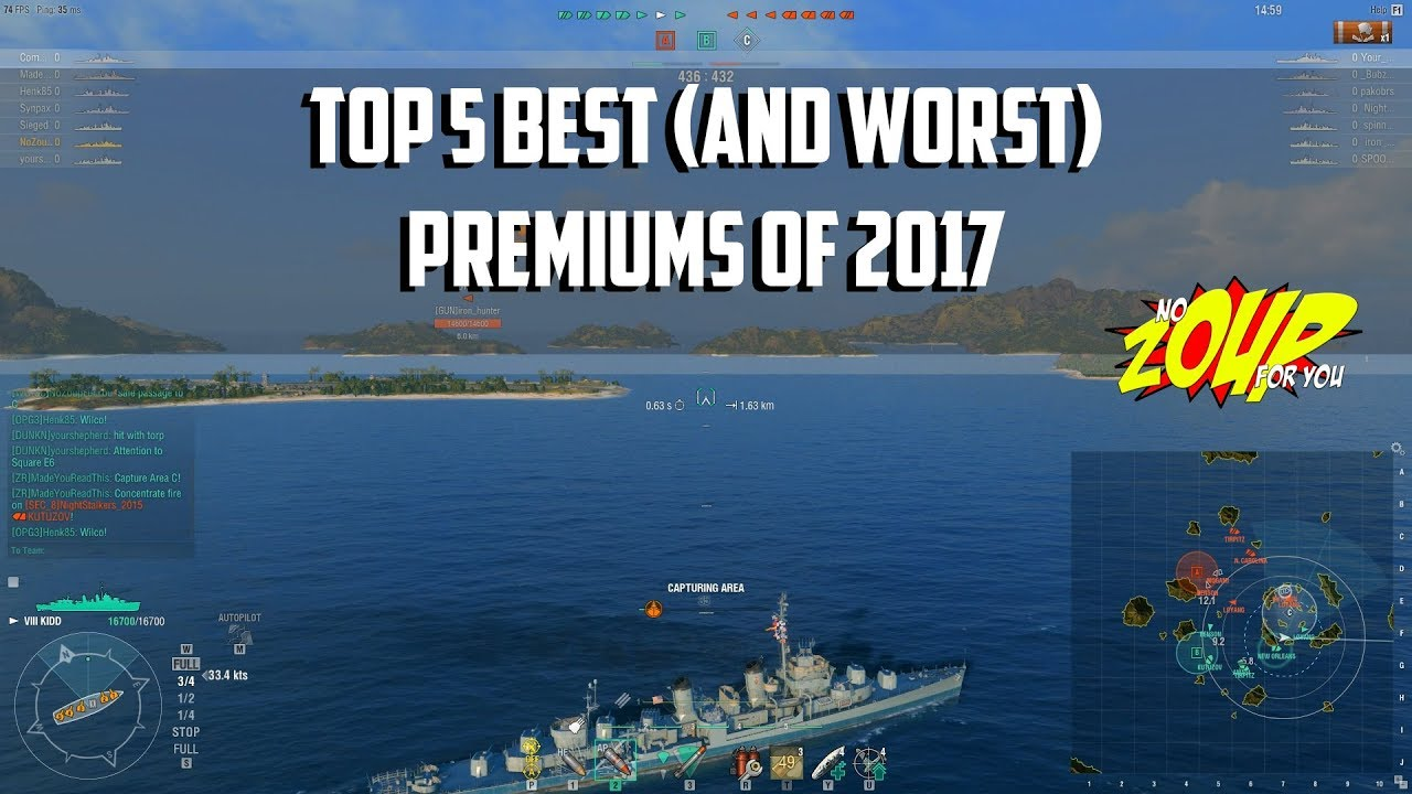 Best Ship In World Of Warships Blitz