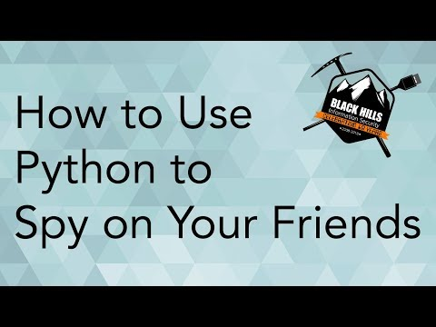 How To Use Python To Spy On Your Friends: Web APIs, Recon Ng, & OSINT
