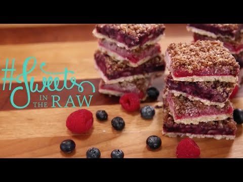 Raw Vegan Blueberry Strudel: Sweets In The Raw Naturally Healthy Desserts