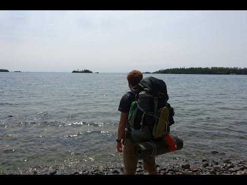 YMCA Camp Hayo-Went-Ha - Isle Royale trip 2015