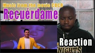 "Carlos Rivera - Recuérdame REACTION |  (De ""Coco""/Versión de Carlos Rivera/Official Video)"