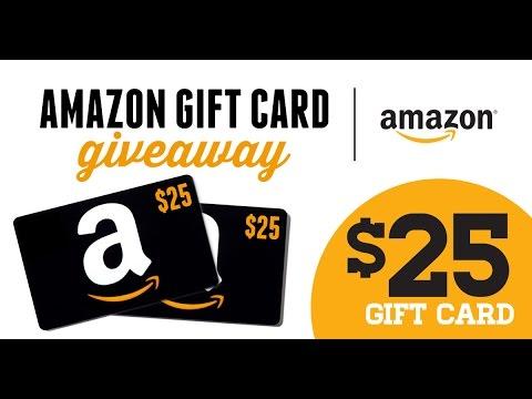 25 dollar amazon gift card