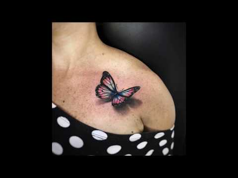 Best 3D Butterfly Tattoos In The World