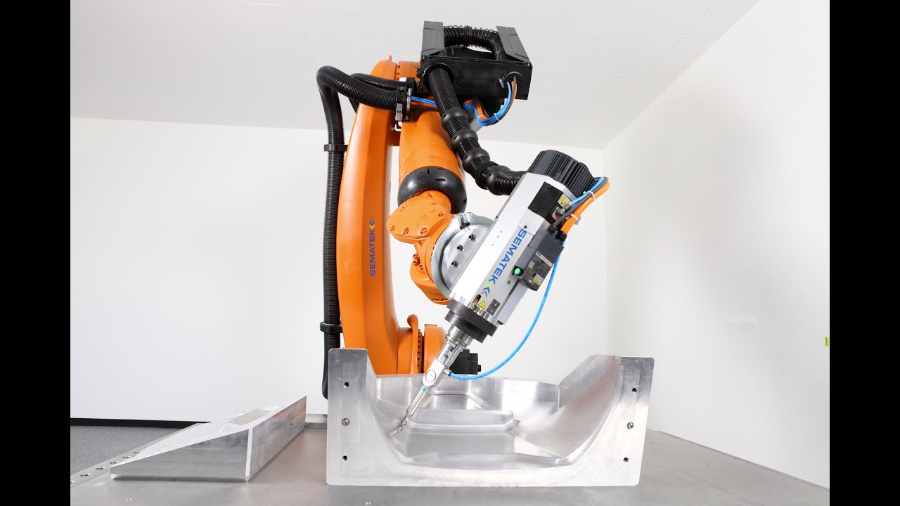 KUKA Robotics at Engineering Company Sematek