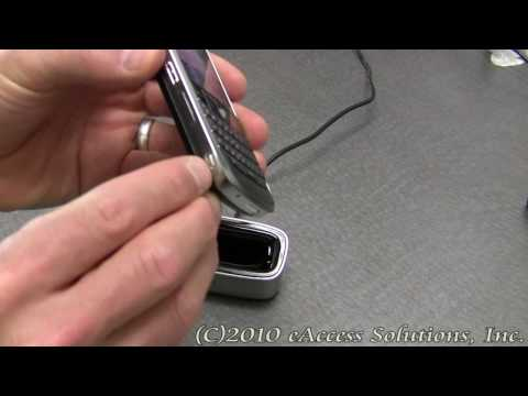 BlackBerry Bold 9000 Charge Pod Video Overview and Unboxing