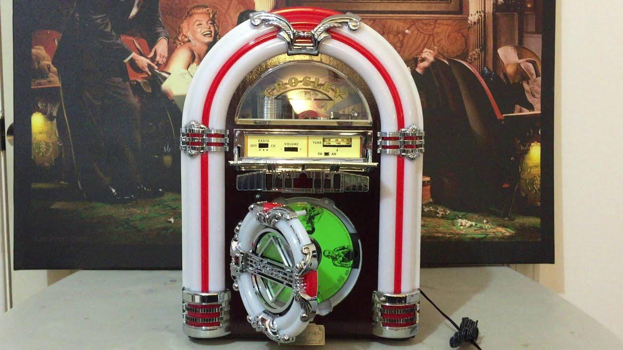 Jukebox Crosley CR1101A working