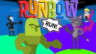 The Runback! Runbow Funny Moments - Run Mode!!