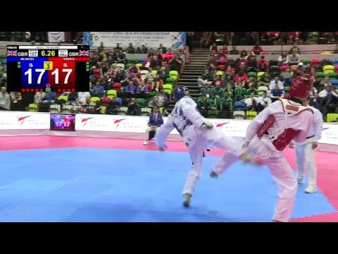 London 2017 World Taekwondo Grand Prix - Mat 1- Session 1