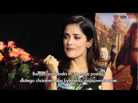 Salma Hayek I Antonio Banderas O Filmie Kot W Butach Youtube