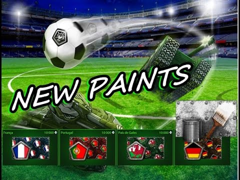 Tanki Online/ buying all paints/Euro 2016/Football tournament/New paints