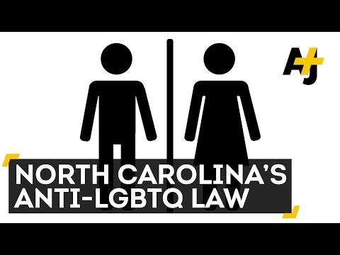 North Carolina Passes Anti-LGBT Bathroom Law