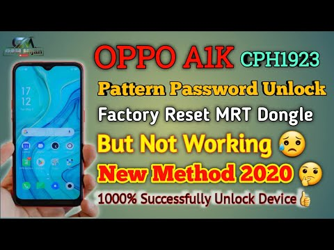 Oppo A1k Format Clear Frp Easy Jag Youtube