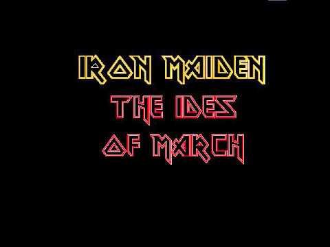 Iron Maiden-The Ides of March (Lyrics)