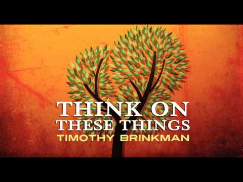 Timothy Brinkman - Think On These Things