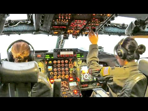 All Female Flight Crew, U.S. Air Force RC-135