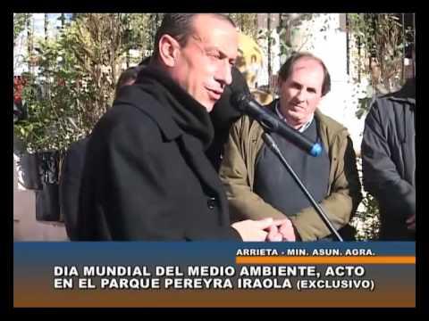 Gustavo Arrieta en el Parque Pereyra Iraola - canal 5 cañuelas
