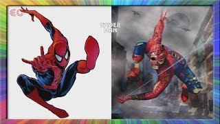 Superheros As Zombie | Marvel & DC Comic Characters As Zombie