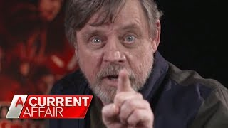 Exclusive: Mark Hamill on Carrie Fisher's death | A Current Affair Australia 2018