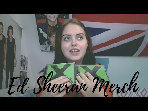 My Ed Sheeran Merchandise Collection // PAM HARRY