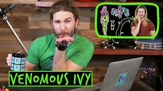 Should Poison Ivy Be Venomous Ivy? | Because Science Footnotes