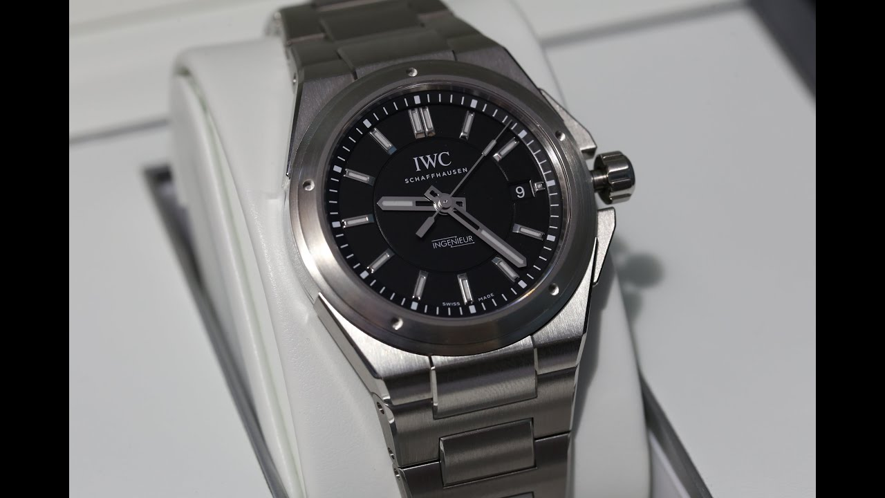 on sale 353d3 f0934 IWC Ingenieur Automatic IW323902 Unboxing