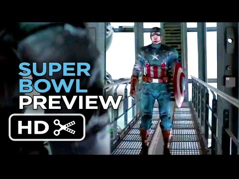 Captain America: The Winter Soldier Super Bowl Preview (2014) - Chris Evans Movie HD