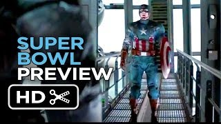 Captain America: The Winter Soldier Super Bowl Preview (2014) - Chris Evans Movie HD
