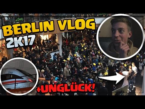 BERLIN TRIP endet mit ZUGUNGLÜCK!