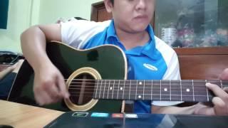Những bức tranh màu (OST Là Anh) - guitar cover