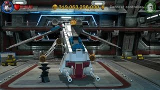 LEGO Star Wars III: The Clone Wars - All Republic Airships