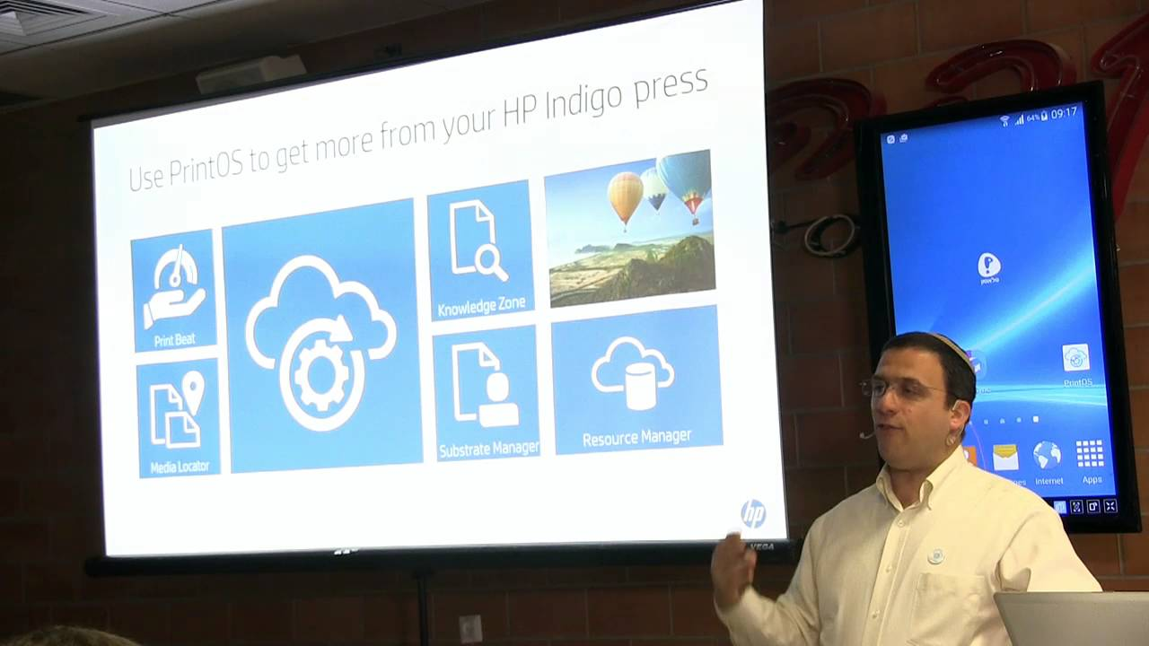 Simon Lewis from HP describes PrintOS