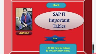 eBook SAP FI Imp tables held for sale.
