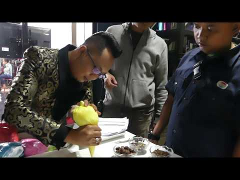 AZIZUL CAKE PREPARERATION BEHIND THE STAGE, GROUP 1 RESULT, TOP15 #DACADEMYASIA3 ,25112017 [FULL HD]