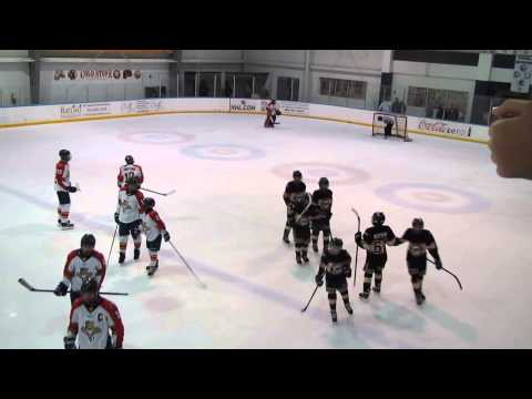 Palm Beach Blackhawks Travel Bantam AA 01 vs Panthers Nov 27 2014