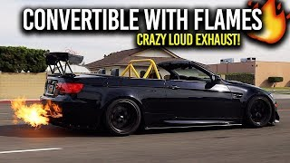 INSANE Caged E93 M3 with fireball tune