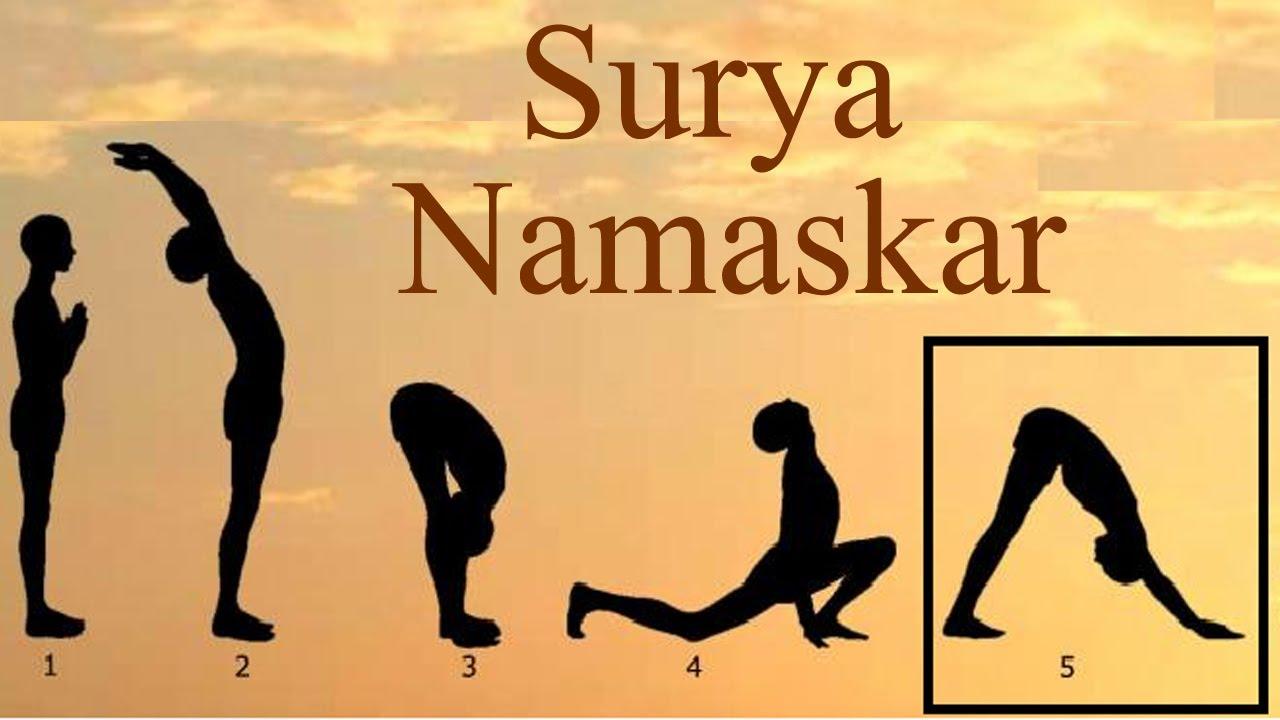 Image result for surya Namaskar