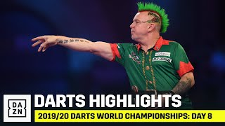 HIGHLIGHTS | 2019/20 Darts World Championships: Day 8