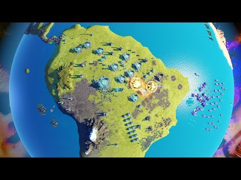 Players Battle Over Planet Earth In Planetary Annihilation Titans