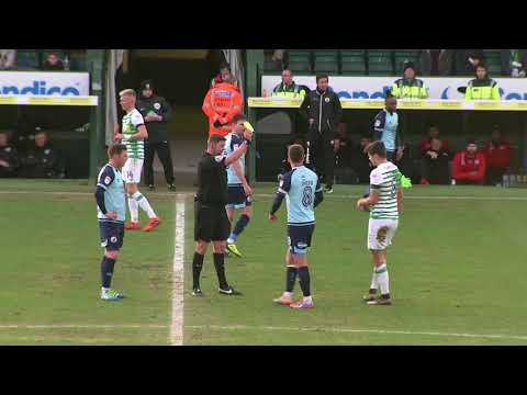 Highlights | Yeovil Town 1-2 Crawley Town
