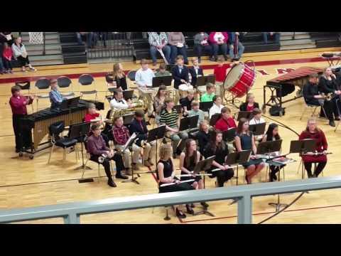Columbiana Middle School Christmas concert