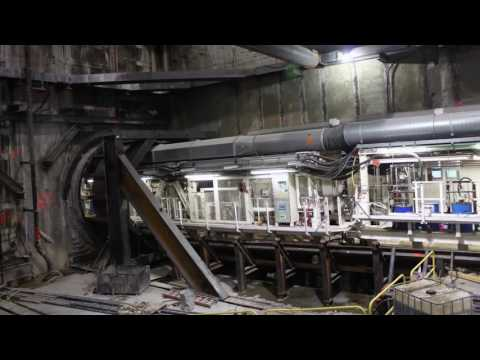 Crenshaw 2 LAX New Subway tunneling