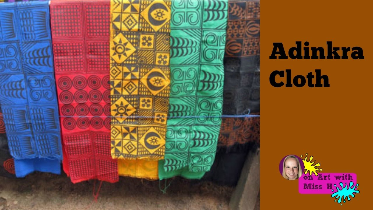How To Make Adinkra Cloth For Kids